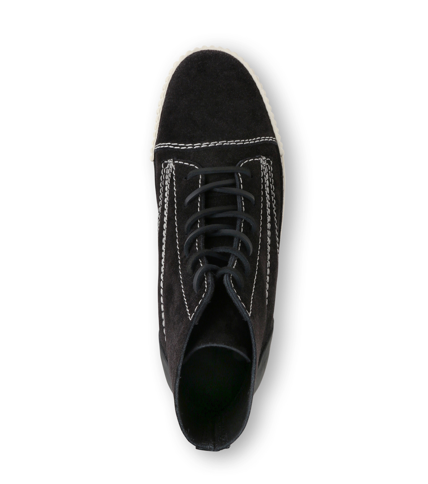 Alexander Wang(アレキサンダーワン)のHicut Sneaker-BLACK(スニーカー/sneaker)-315122F16-13 拡大詳細画像4