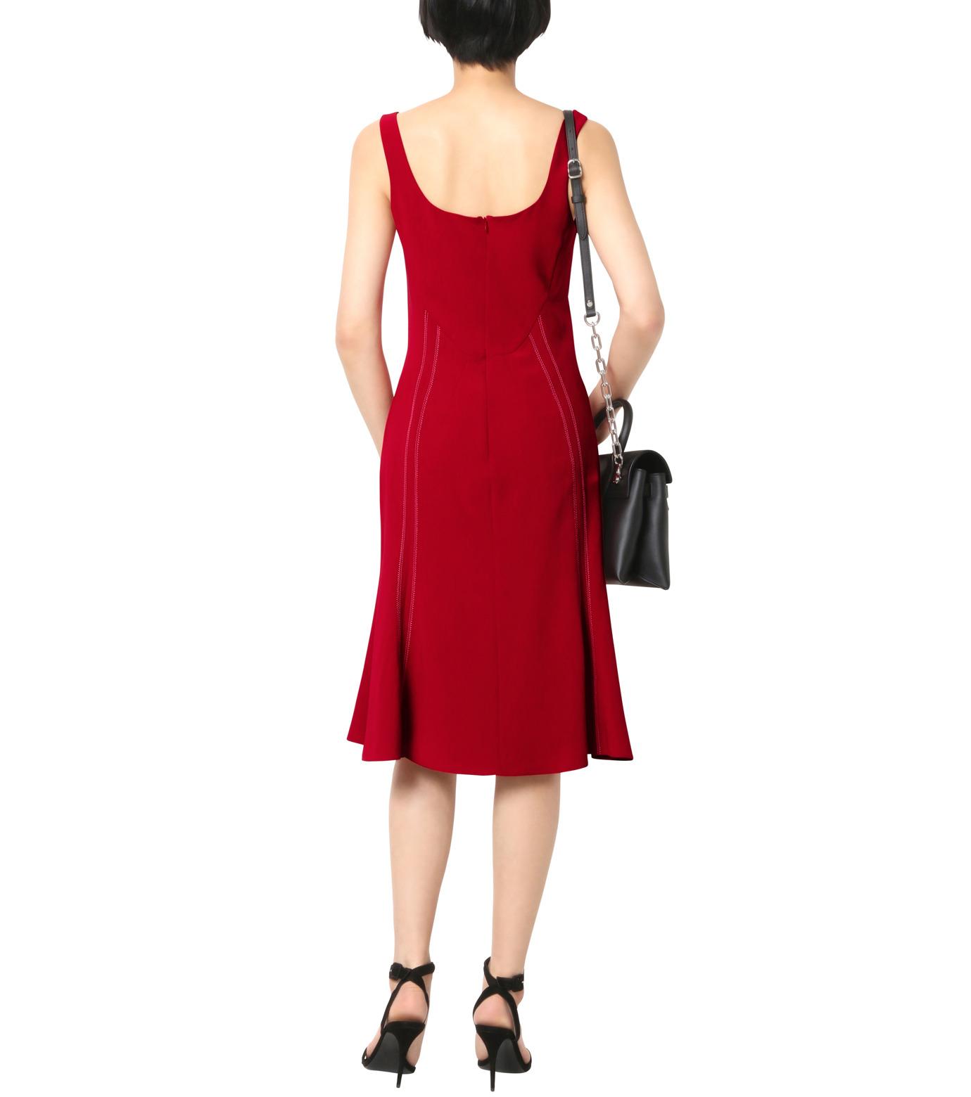 Altuzarra(アルトゥザラ)のStitched Detail Dress-RED(ワンピース/one piece)-316-317-89-62 拡大詳細画像2