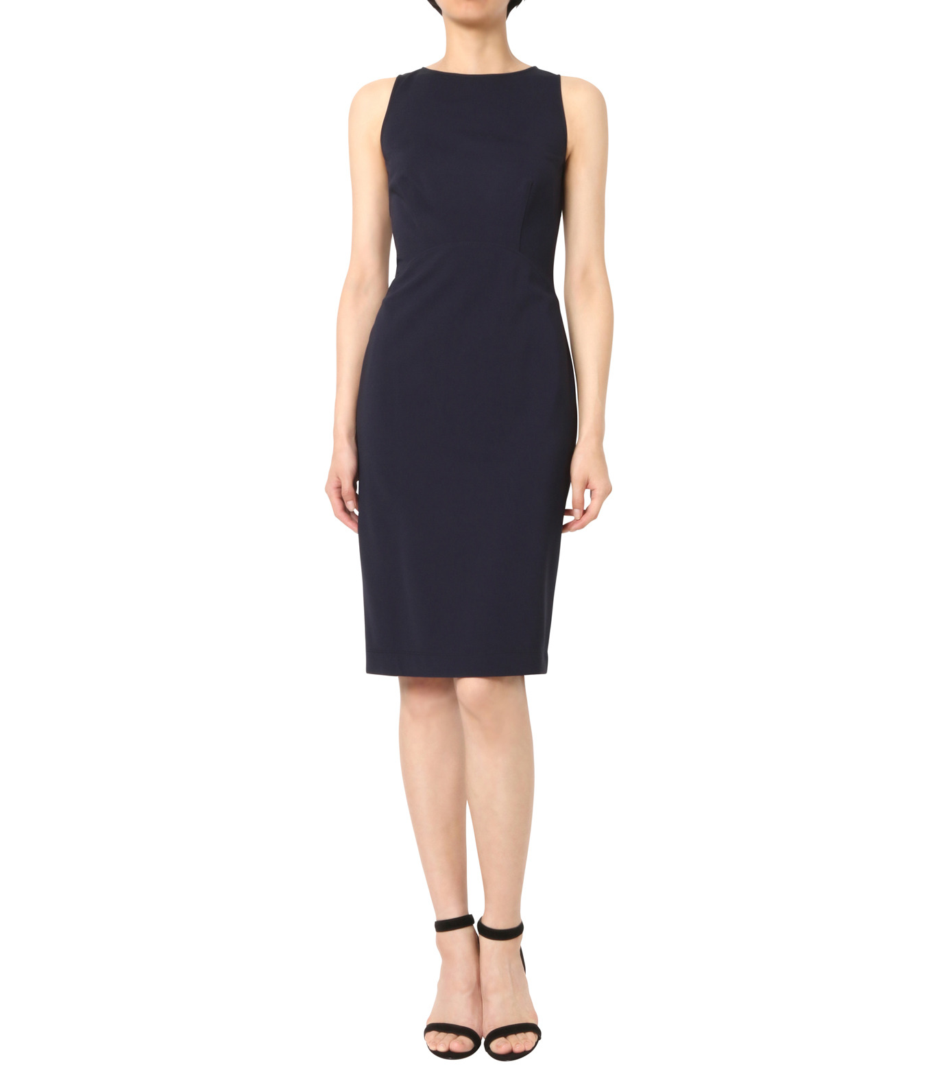 Altuzarra(アルトゥザラ)のFitted Stretch Dress-NAVY(ワンピース/one piece)-316-319-452-93 拡大詳細画像1