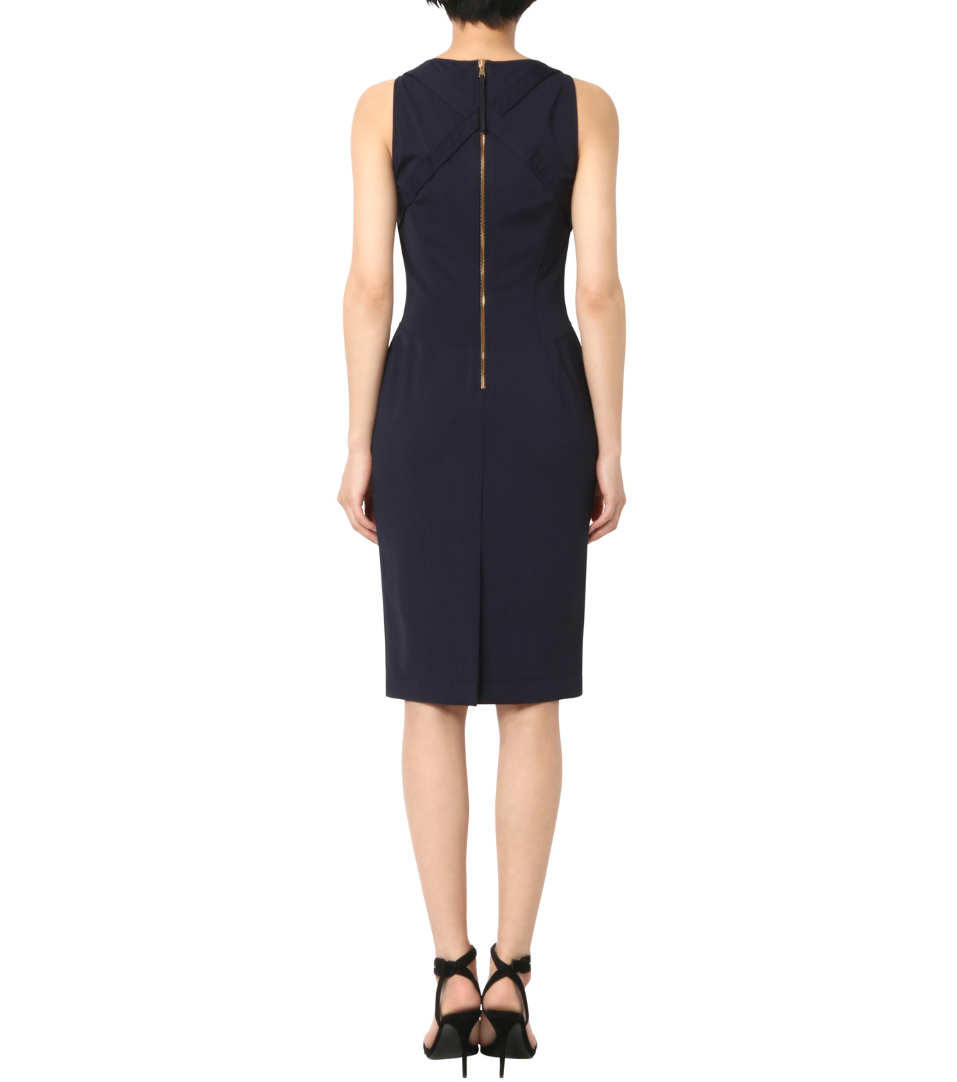 Altuzarra(アルトゥザラ)のFitted Stretch Dress-NAVY(ワンピース/one piece)-316-319-452-93 拡大詳細画像2