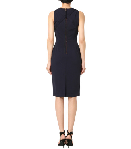 Altuzarra(アルトゥザラ)のFitted Stretch Dress-NAVY(ワンピース/one piece)-316-319-452-93 詳細画像2