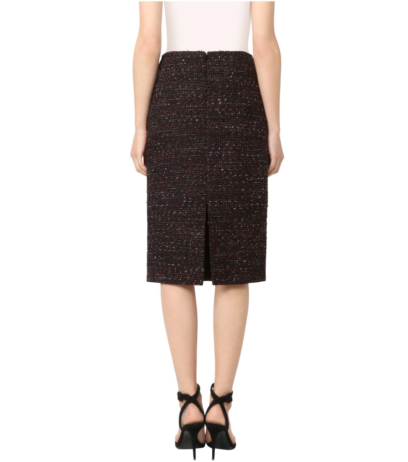 Altuzarra(アルトゥザラ)のTweed Pencil Skirt-BLACK(スカート/skirt)-316-501-465-13 拡大詳細画像2