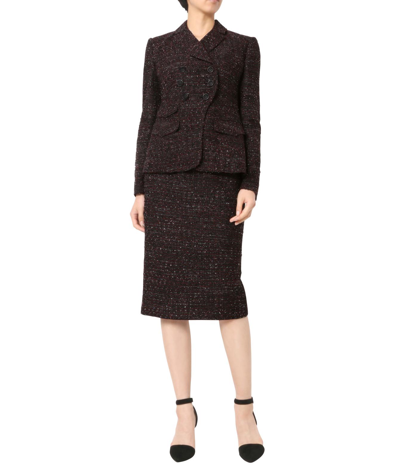 Altuzarra(アルトゥザラ)のTweed Pencil Skirt-BLACK(スカート/skirt)-316-501-465-13 拡大詳細画像3