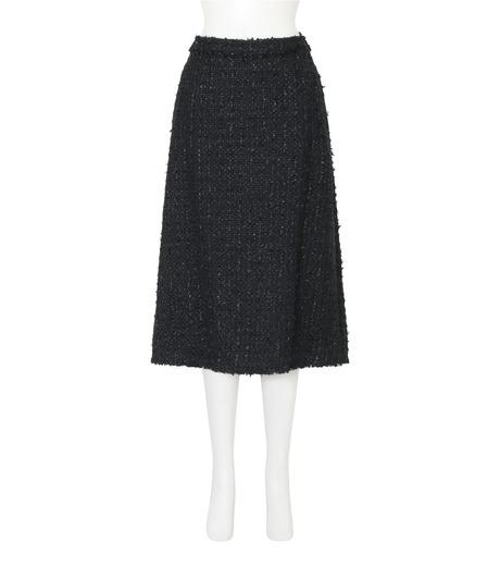 Simone Rocha(シモーネロシャ)のFine Tweed Skirt-BLACK(スカート/skirt)-3359-13 詳細画像1