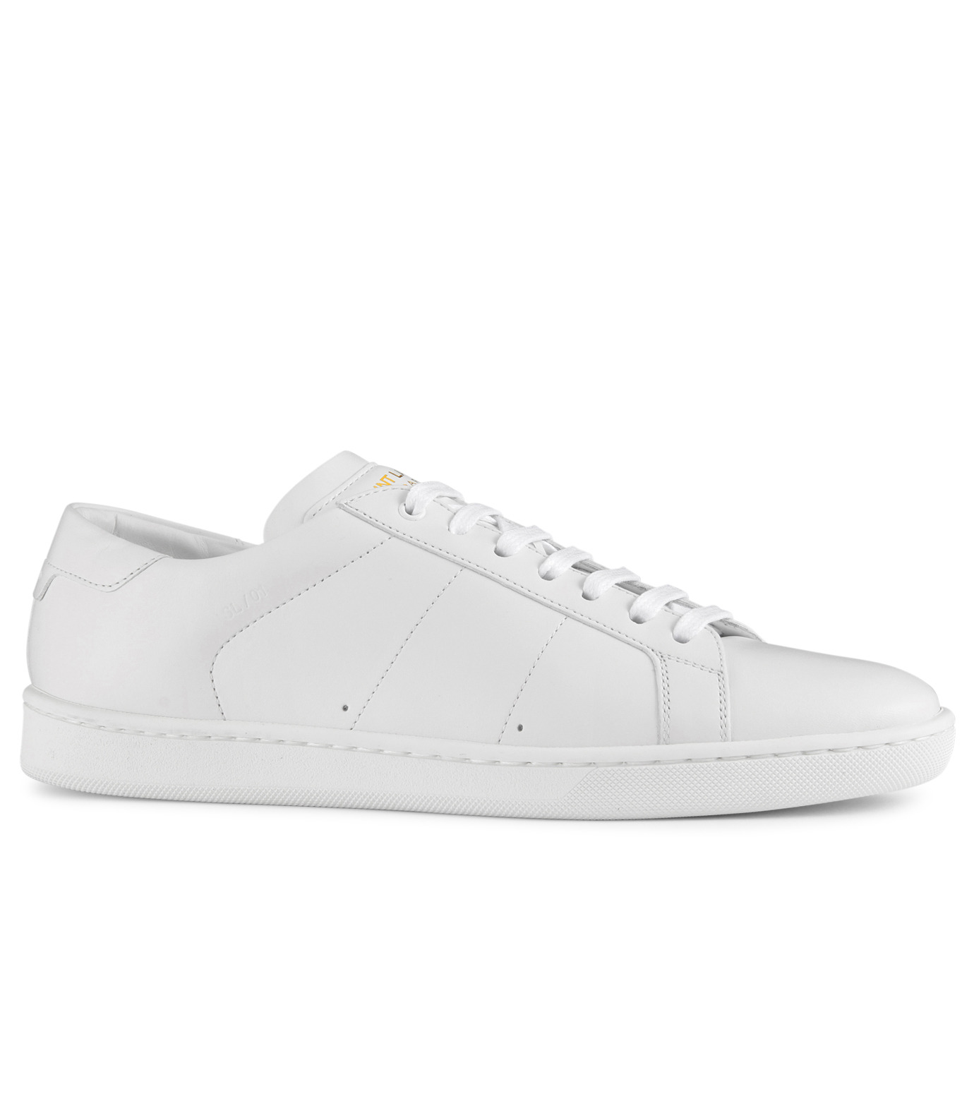 SAINT LAURENT(サンローラン)のLow Top Sneaker-WHITE-336250-AQI00-4 拡大詳細画像1