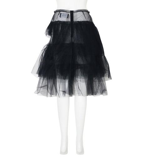Simone Rocha(シモーネロシャ)のNet Tulle Full Skirt-BLACK(スカート/skirt)-3366-13 詳細画像2