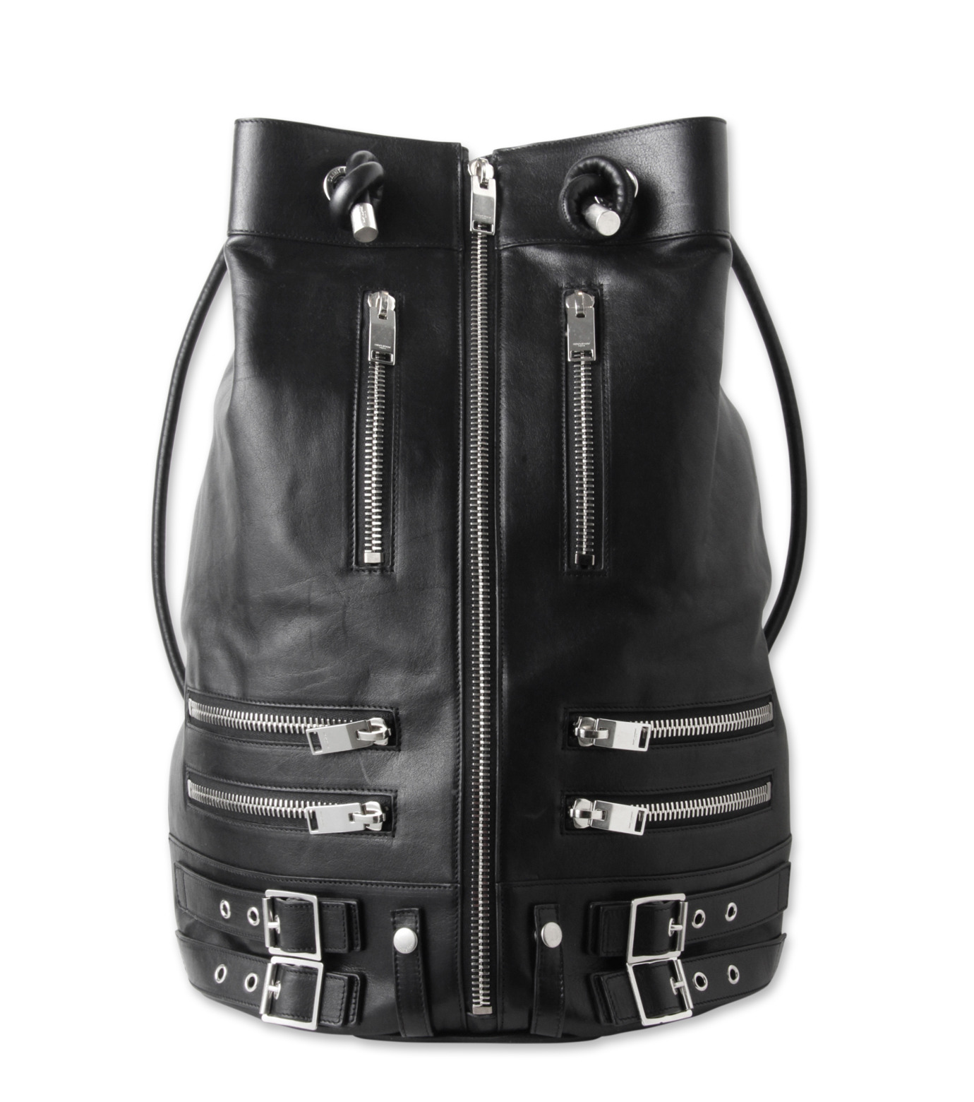 SAINT LAURENT(サンローラン)のRiders Zip Bag-BLACK-344042-C4D0F-13 拡大詳細画像1