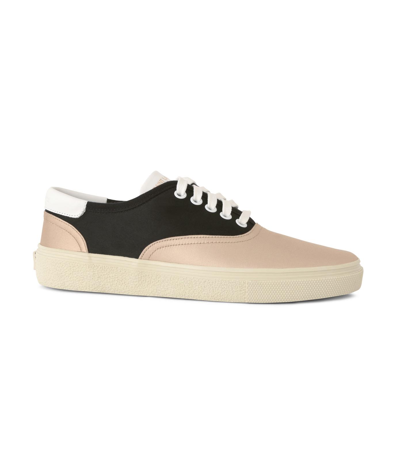 SAINT LAURENT(サンローラン)のSkate Sneaker Lace Up Satin-BEIGE(スニーカー/sneaker)-345062-F1430-52 拡大詳細画像1