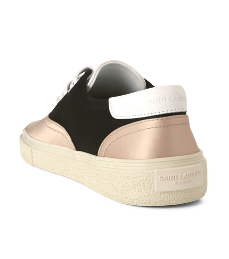 SAINT LAURENT(サンローラン)のSkate Sneaker Lace Up Satin-BEIGE(スニーカー/sneaker)-345062-F1430-52 詳細画像2