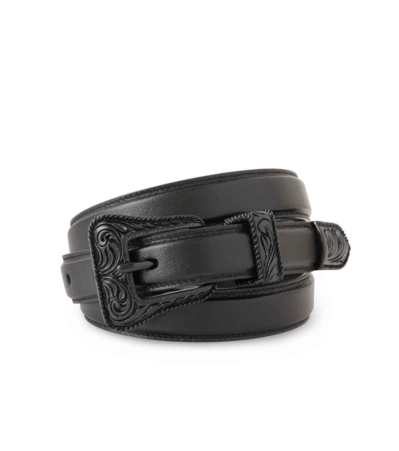SAINT LAURENT(サンローラン)のWestern Belt-BLACK(ベルト/belt)-346571-CX00U-13 拡大詳細画像1