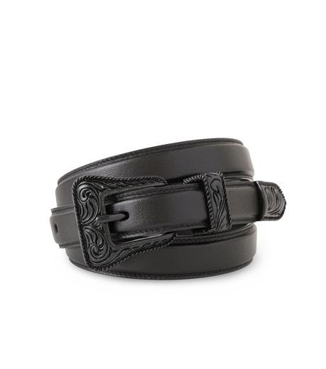 SAINT LAURENT(サンローラン)のWestern Belt-BLACK(ベルト/belt)-346571-CX00U-13 詳細画像1