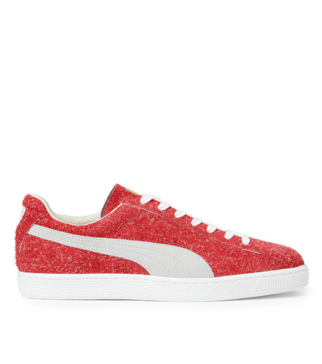 PUMA(プーマ)のSUEDE ANGORA X ML-BORDEAUX(シューズ/shoes)-357437-63 詳細画像1