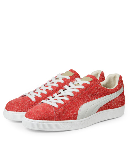 PUMA(プーマ)のSUEDE ANGORA X ML-BORDEAUX(シューズ/shoes)-357437-63 詳細画像4