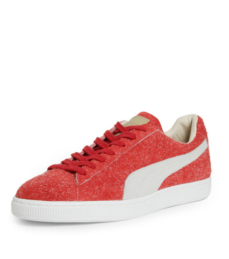PUMA(プーマ)のSUEDE ANGORA X ML-BORDEAUX(シューズ/shoes)-357437-63 詳細画像6