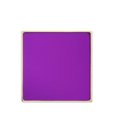 Sylvio Giardina(シルビオ・ジャルディーナ)のSquare Brooch-PURPLE(アクセサリー/accessory)-35S-82 詳細画像1