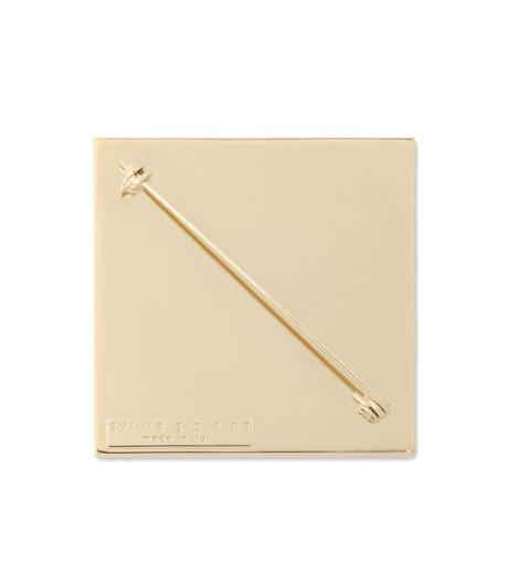 Sylvio Giardina(シルビオ・ジャルディーナ)のSquare Brooch-PURPLE(アクセサリー/accessory)-35S-82 詳細画像2