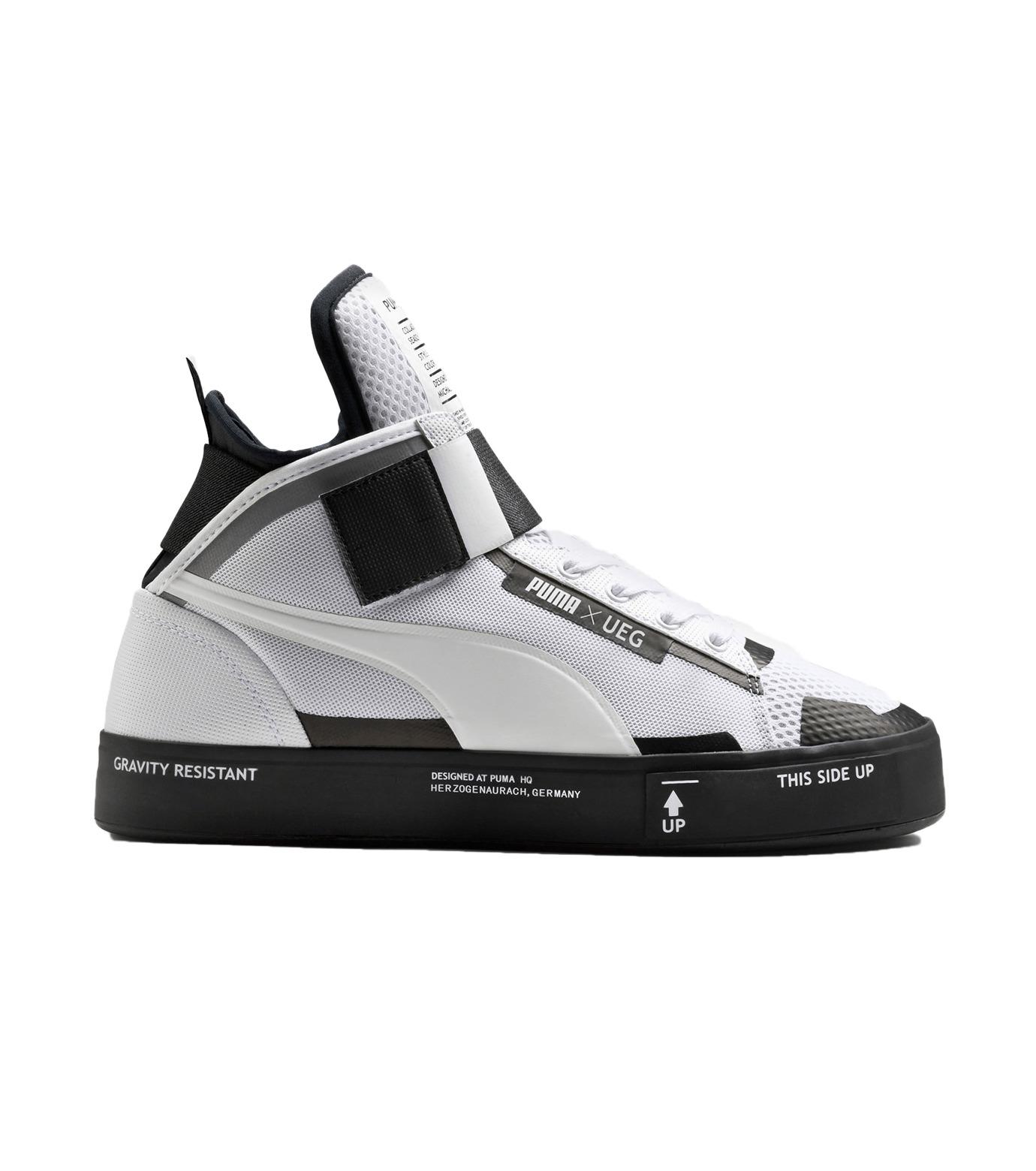 PUMA(プーマ)のCOURT PLAY X UEG-WHITE(シューズ/shoes)-361497-4 拡大詳細画像1