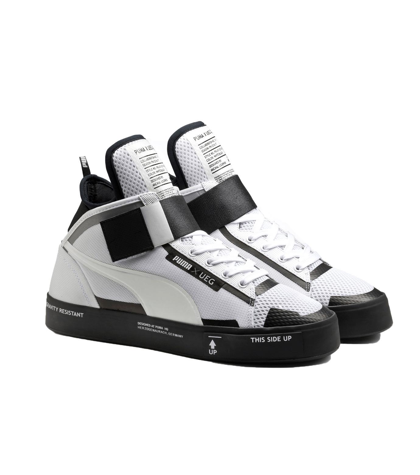 PUMA(プーマ)のCOURT PLAY X UEG-WHITE(シューズ/shoes)-361497-4 拡大詳細画像3