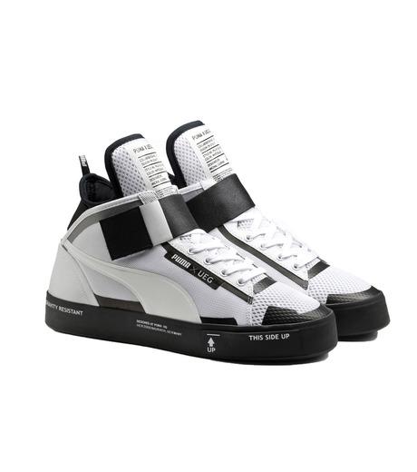 PUMA(プーマ)のCOURT PLAY X UEG-WHITE(シューズ/shoes)-361497-4 詳細画像3