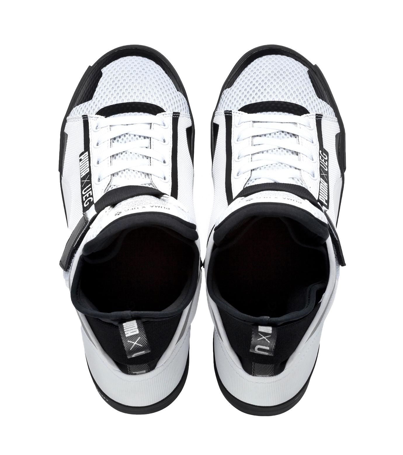 PUMA(プーマ)のCOURT PLAY X UEG-WHITE(シューズ/shoes)-361497-4 拡大詳細画像4