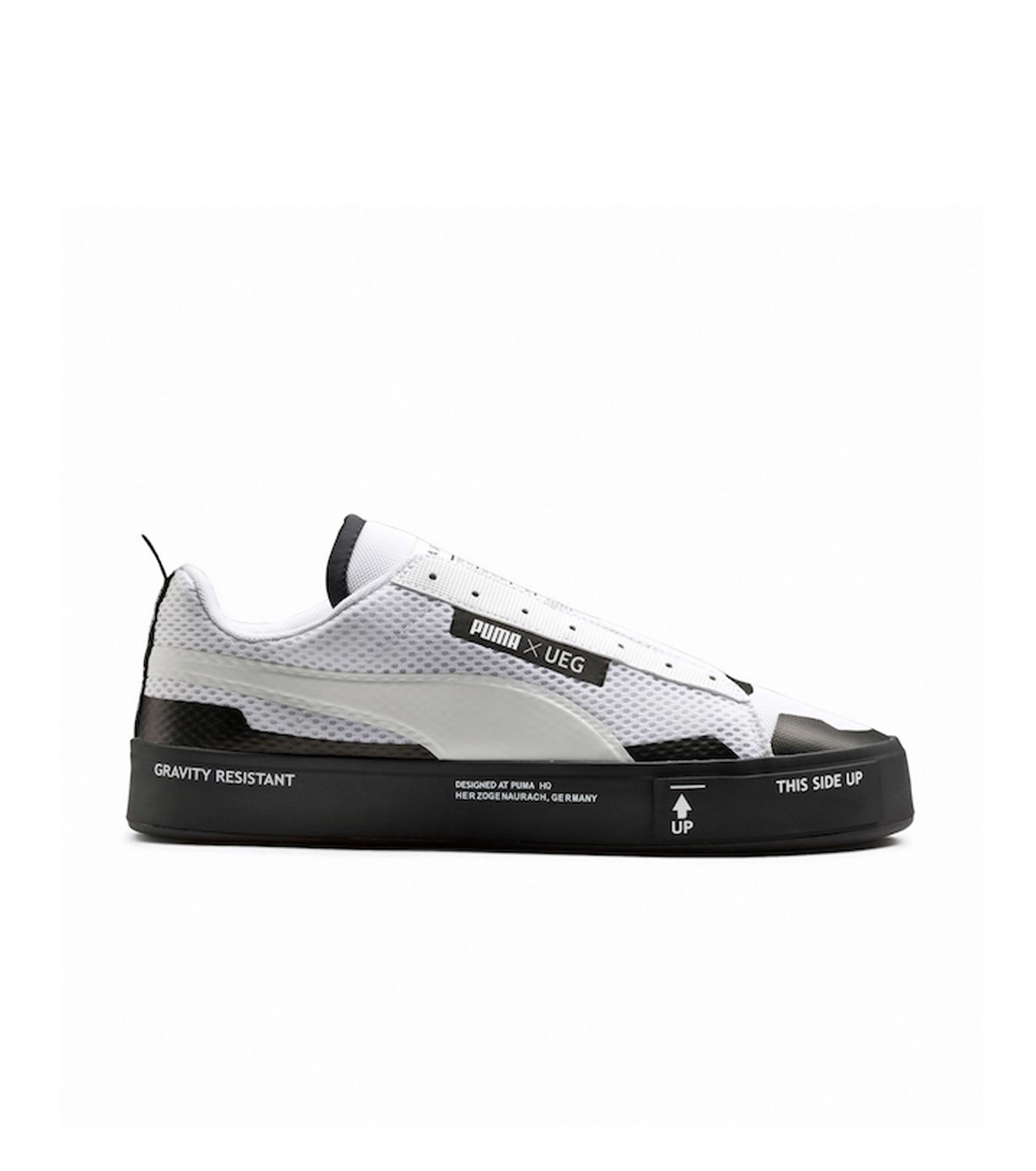 PUMA(プーマ)のCOURT PLAY SLIPON X UEG-WHITE(シューズ/shoes)-361637-4 拡大詳細画像1