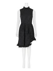 Simone Rocha(シモーネロシャ) Cotton Brocade Dress w/Beads