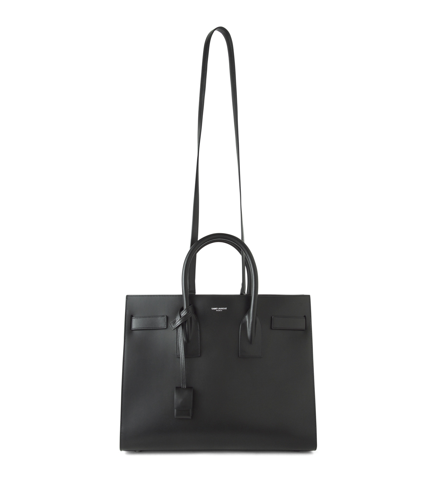 SAINT LAURENT(サンローラン)のSac de Jour Small Double Face-BLACK(ハンドバッグ/hand bag)-378299-BX62V-13 拡大詳細画像1