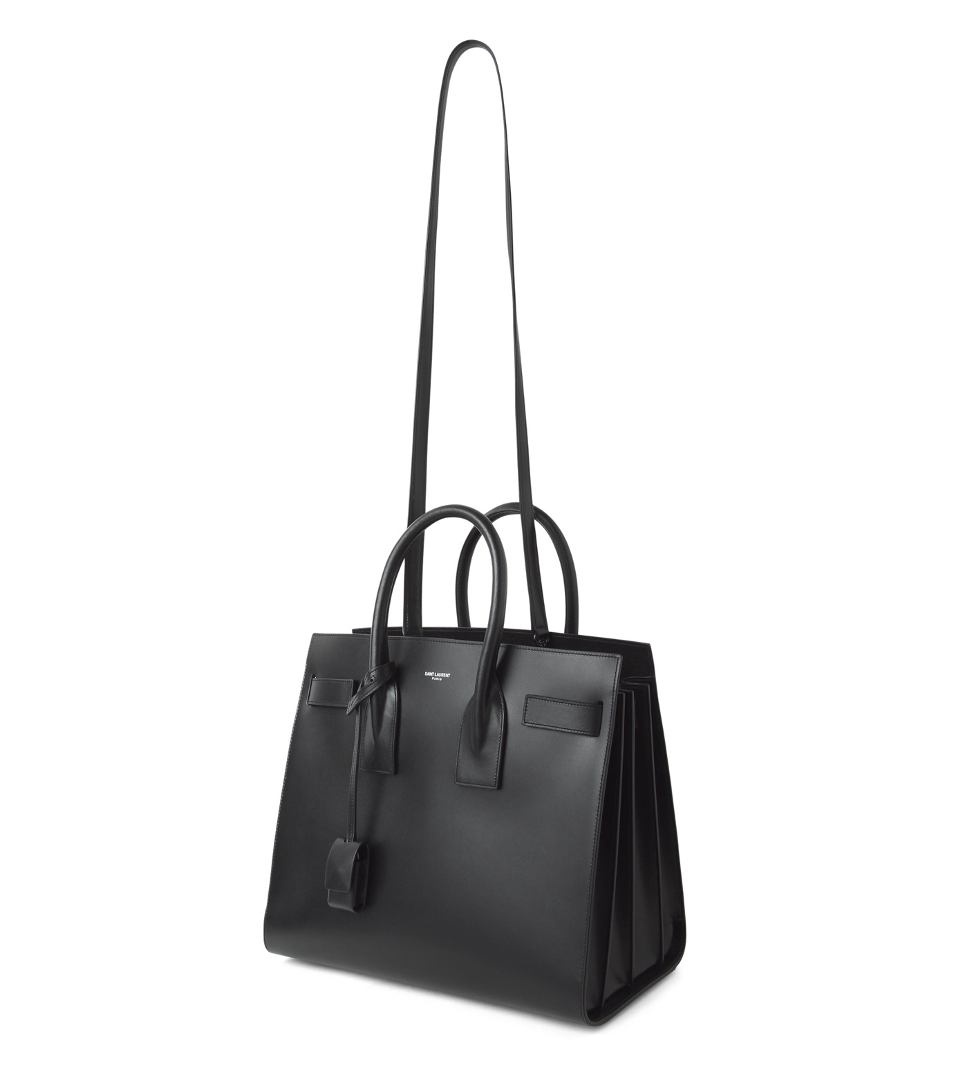 SAINT LAURENT(サンローラン)のSac de Jour Small Double Face-BLACK(ハンドバッグ/hand bag)-378299-BX62V-13 拡大詳細画像2