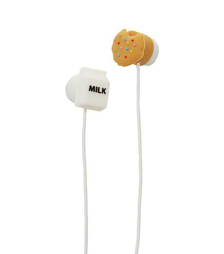 DCI(ディーシーアイ)のEarbuds Milk & Cookies-MULTI COLOUR(アザーズ/EARPHONE/others/EARPHONE)-38129-9 詳細画像1