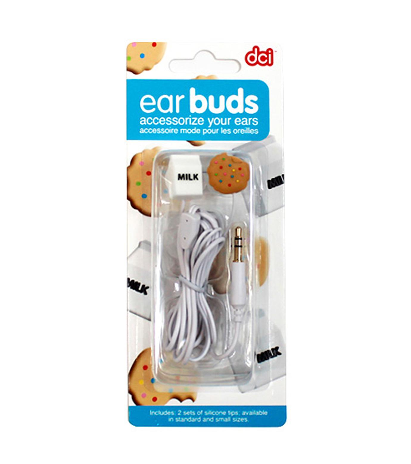 DCI(ディーシーアイ)のEarbuds Milk & Cookies-MULTI COLOUR(アザーズ/EARPHONE/others/EARPHONE)-38129-9 拡大詳細画像2