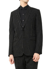 SAINT LAURENT Stripe Jacket