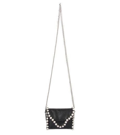 Stella McCartney(ステラマッカートニー)のTiny Fold Over Cross-Body-BLACK(バッグ/ショルダーバッグ/bag/shoulder bag)-391697-W9746-13 詳細画像1