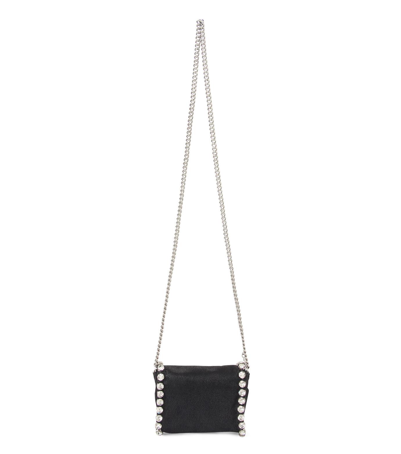 Stella McCartney(ステラマッカートニー)のTiny Fold Over Cross-Body-BLACK(バッグ/ショルダーバッグ/bag/shoulder bag)-391697-W9746-13 拡大詳細画像3
