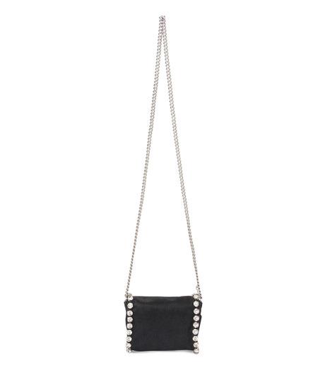 Stella McCartney(ステラマッカートニー)のTiny Fold Over Cross-Body-BLACK(バッグ/ショルダーバッグ/bag/shoulder bag)-391697-W9746-13 詳細画像3