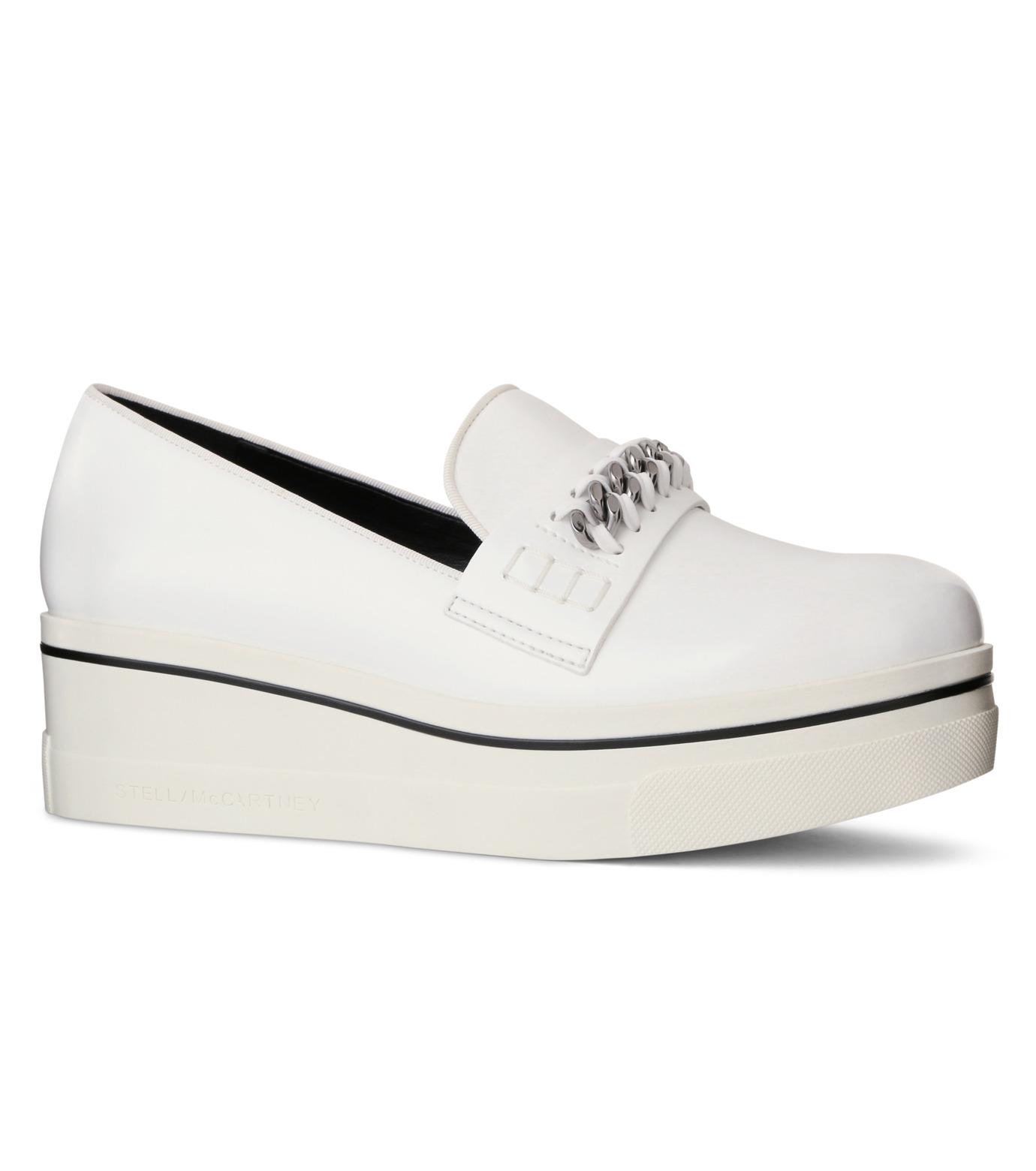 Stella McCartney(ステラマッカートニー)のBinx Sneaker-WHITE(スニーカー/sneaker)-392315-W0VE2-4 拡大詳細画像1