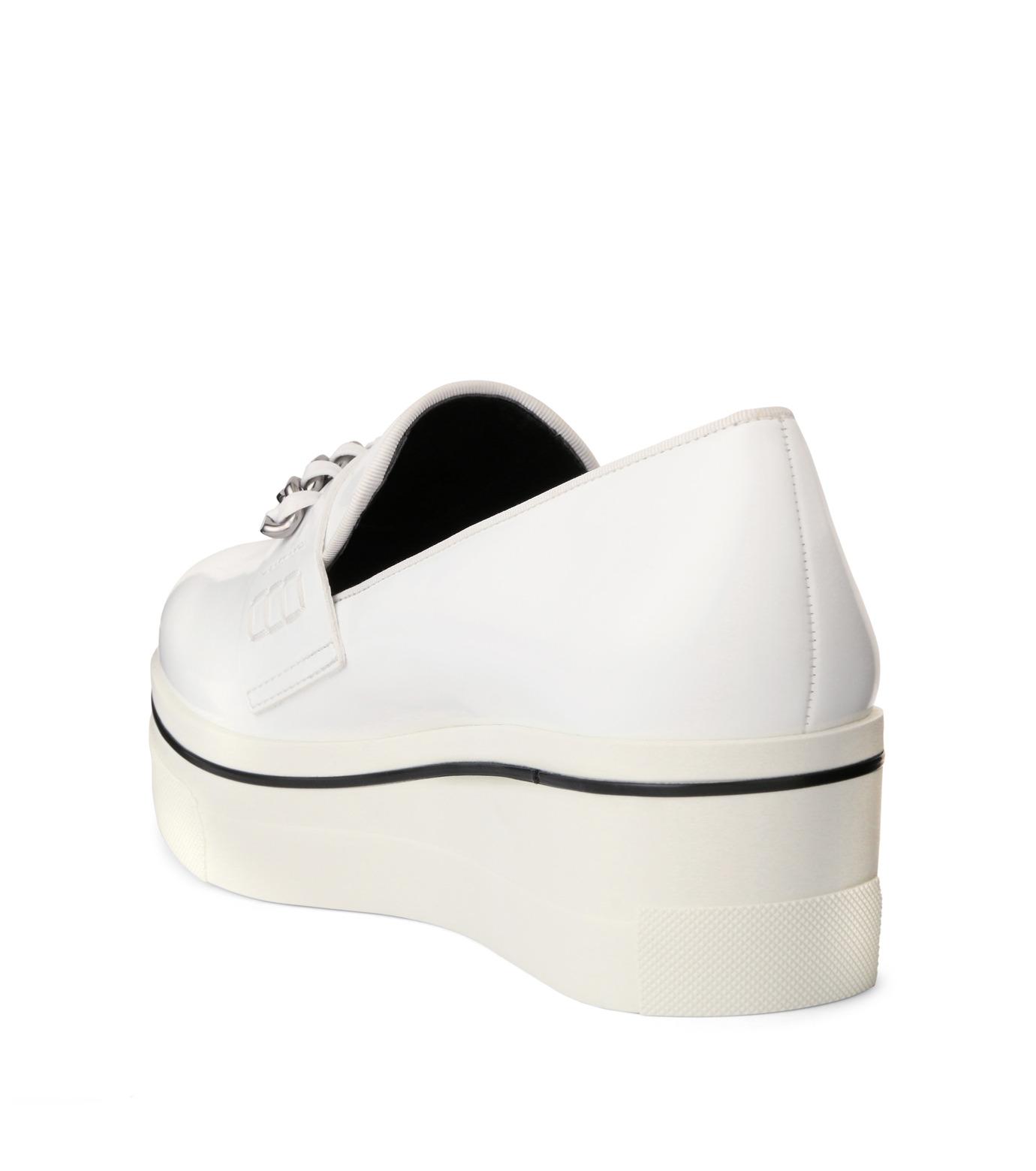 Stella McCartney(ステラマッカートニー)のBinx Sneaker-WHITE(スニーカー/sneaker)-392315-W0VE2-4 拡大詳細画像2