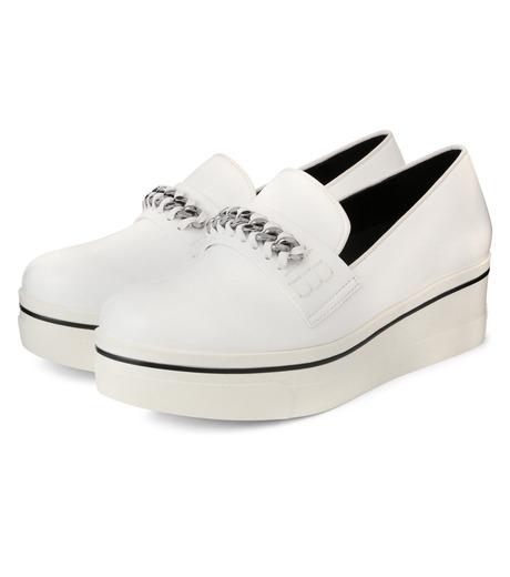 Stella McCartney(ステラマッカートニー)のBinx Sneaker-WHITE(スニーカー/sneaker)-392315-W0VE2-4 詳細画像3