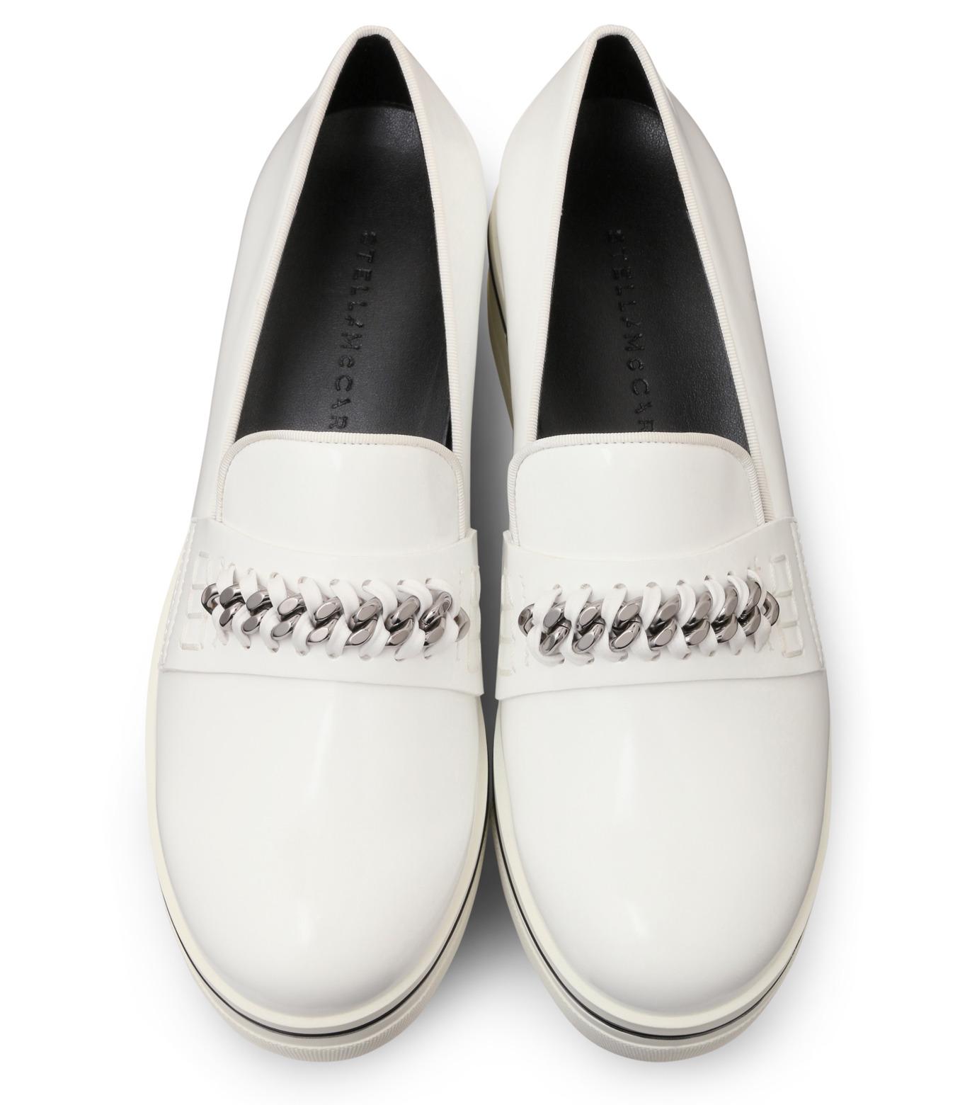 Stella McCartney(ステラマッカートニー)のBinx Sneaker-WHITE(スニーカー/sneaker)-392315-W0VE2-4 拡大詳細画像4