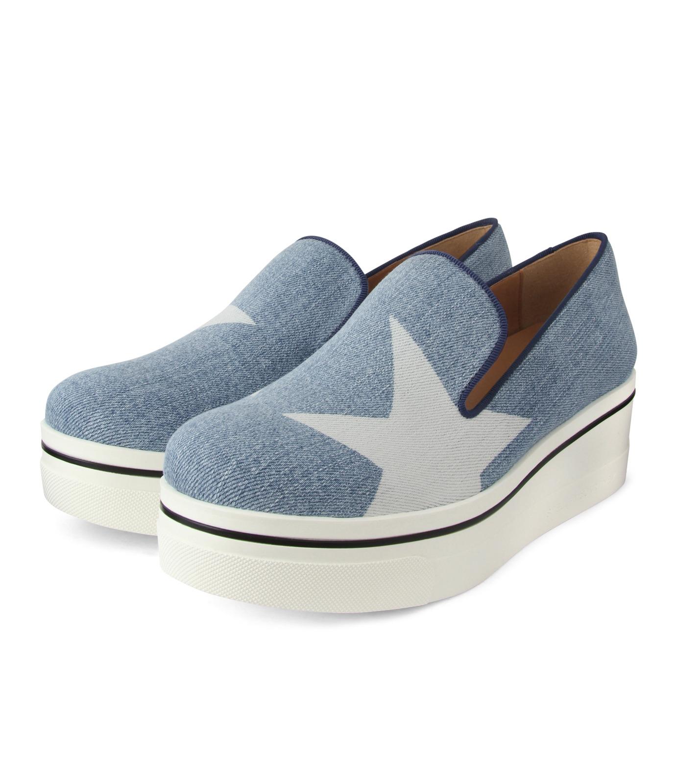 Stella McCartney(ステラマッカートニー)のBinx Star-INDIGO(スニーカー/sneaker)-392333-W02Y1-94 拡大詳細画像3