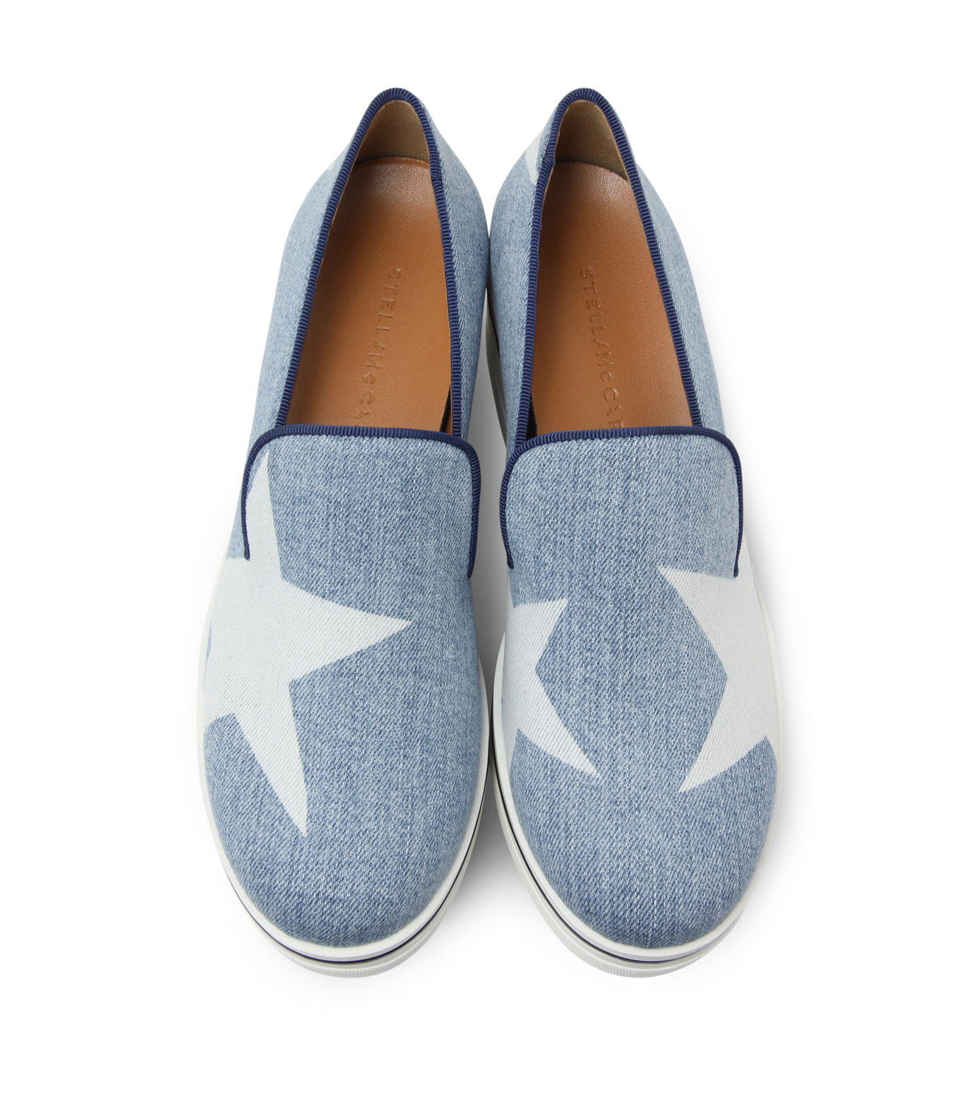 Stella McCartney(ステラマッカートニー)のBinx Star-INDIGO(スニーカー/sneaker)-392333-W02Y1-94 拡大詳細画像4