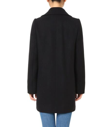 Stella McCartney(ステラマッカートニー)のWool Melton Short Coat-BLACK(コート/coat)-393143-SDB40-13 詳細画像2
