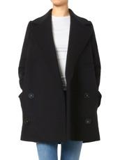 Stella McCartney(ステラマッカートニー) Wool Melton Short Coat