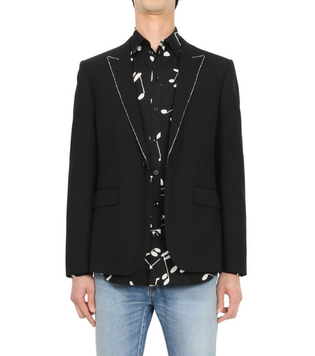 SAINT LAURENT(サンローラン)のStripe Jacket-BLACK(ジャケット/jacket)-394019-Y239W-13 詳細画像1