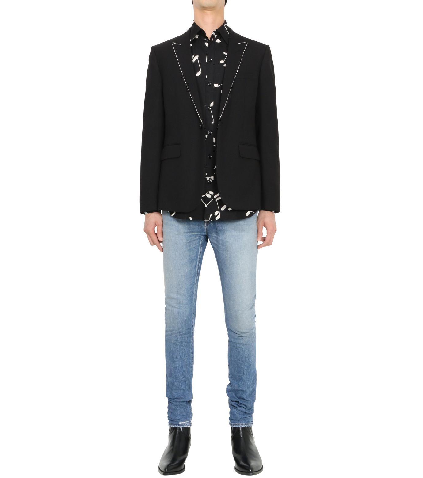 SAINT LAURENT(サンローラン)のStripe Jacket-BLACK(ジャケット/jacket)-394019-Y239W-13 拡大詳細画像3