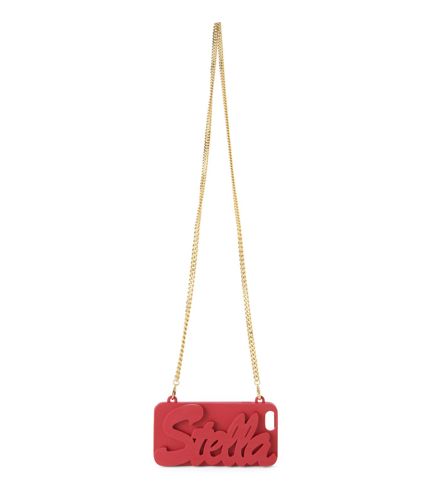 Stella McCartney(ステラマッカートニー)のiPhone6 Case Stella-PINK(ケースiphone6/6s/case iphone6/6s)-397935-W9589-72 拡大詳細画像3