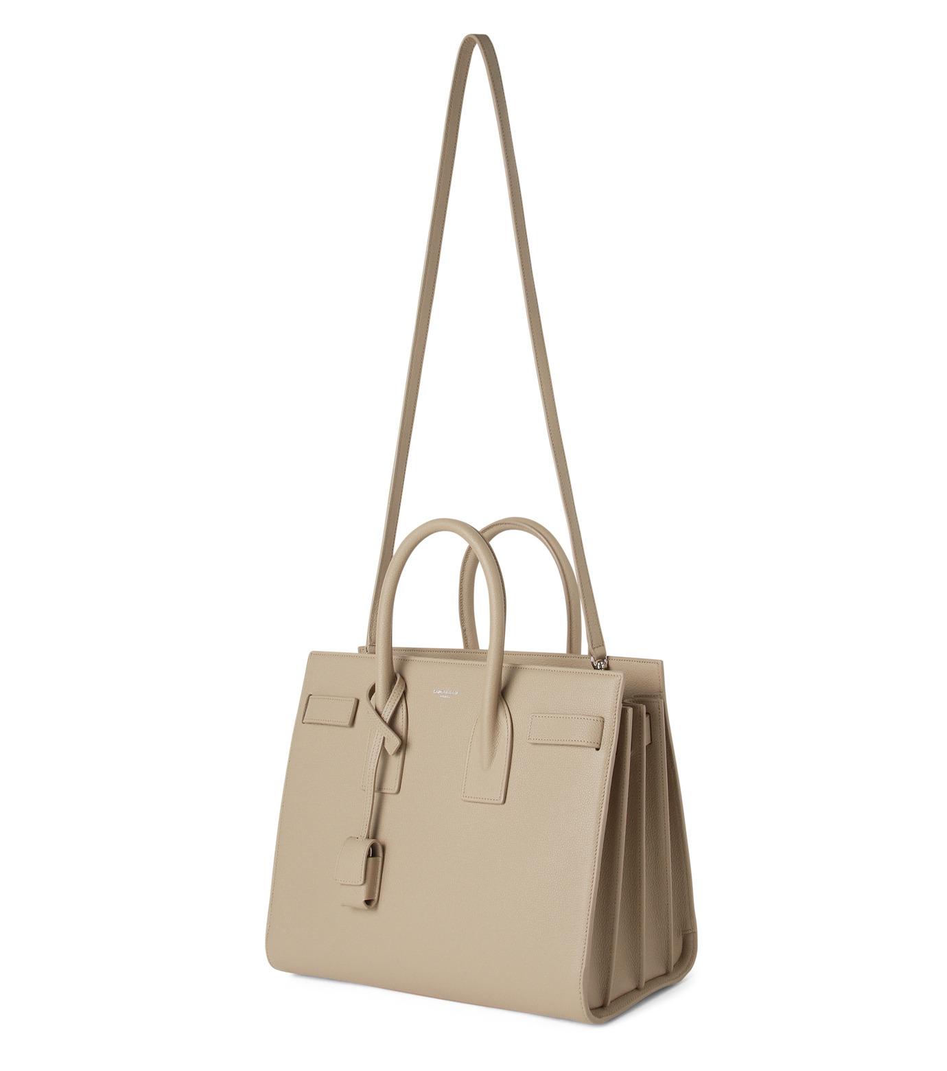 SAINT LAURENT(サンローラン)のSac de Jour Small-BEIGE(ハンドバッグ/hand bag)-398709-B680N-52 拡大詳細画像2