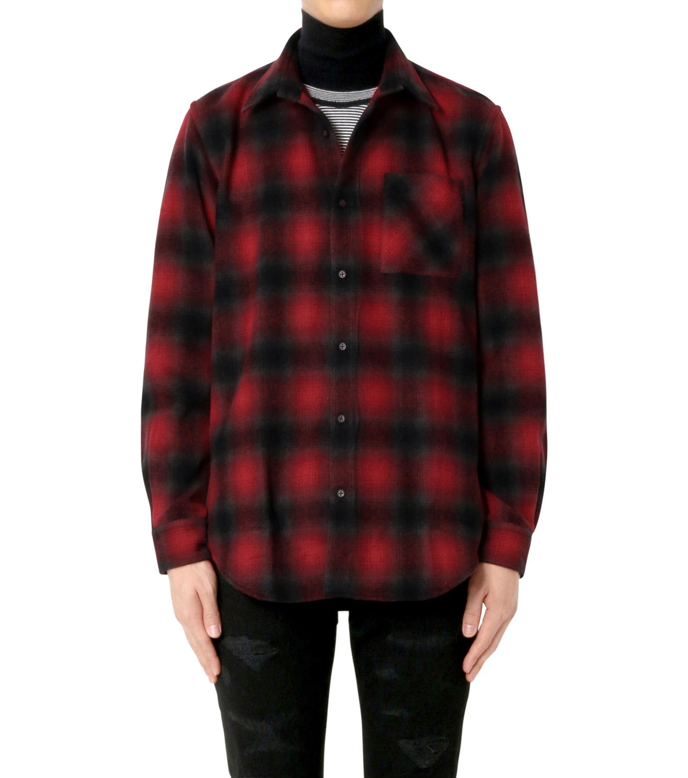 John Lawrence Sullivan(ジョン ローレンス サリバン)のCheck Shirt-RED(シャツ/shirt)-3B003-16-23-62 拡大詳細画像1