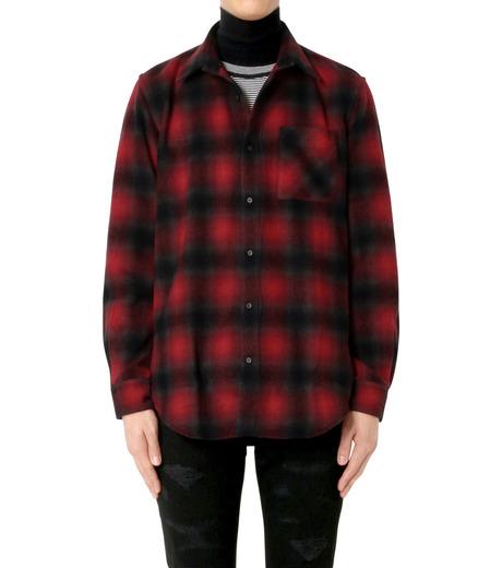 John Lawrence Sullivan(ジョン ローレンス サリバン)のCheck Shirt-RED(シャツ/shirt)-3B003-16-23-62 詳細画像1