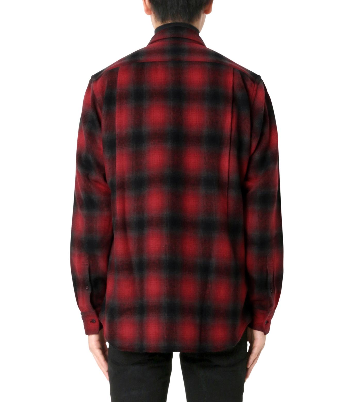 John Lawrence Sullivan(ジョン ローレンス サリバン)のCheck Shirt-RED(シャツ/shirt)-3B003-16-23-62 拡大詳細画像2