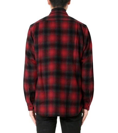 John Lawrence Sullivan(ジョン ローレンス サリバン)のCheck Shirt-RED(シャツ/shirt)-3B003-16-23-62 詳細画像2